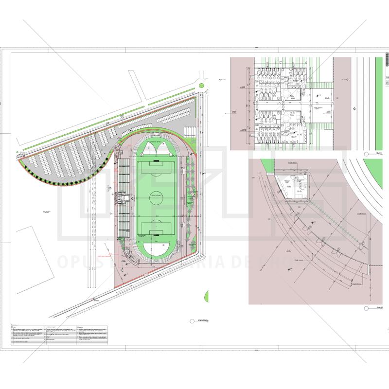 Planta do Estádio